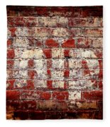 Chips Brick Wall Fleece Blanket