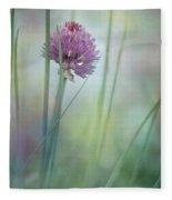 Chive Garden Fleece Blanket
