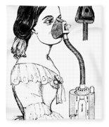 Chloroform Inhaler, 1858 Fleece Blanket