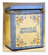 Chocolat En Poudre Fleece Blanket