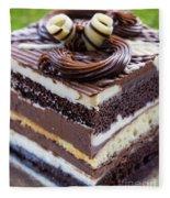 Chocolate Temptation Fleece Blanket