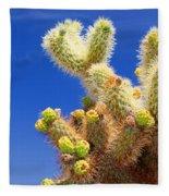 Cholla Cactus I By Diana Sainz Fleece Blanket