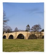 Chollerford Bridge Fleece Blanket