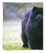 Chow Chow Dog Fleece Blanket