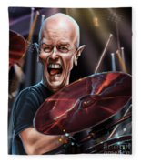 Chris Slade Fleece Blanket