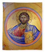 Christ Pantocrator -- No.4 Fleece Blanket