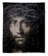 Christ Suffering Fleece Blanket