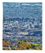 Christchurch City Fleece Blanket