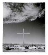 Christian Grave Fleece Blanket