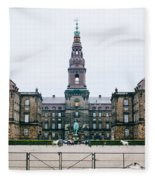 Christiansborg Slot Fleece Blanket