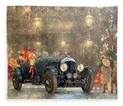 Christmas Bentley Fleece Blanket