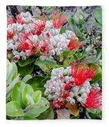 Christmas Berries Fleece Blanket