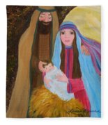 Christmas Blessing Fleece Blanket