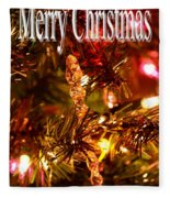 Christmas Card 1 Fleece Blanket