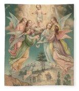 Christmas Card Fleece Blanket