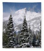 Christmas Card Perfect Fleece Blanket