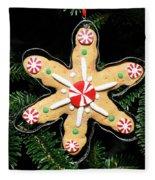 Christmas Cookie Fleece Blanket