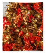 Christmas Dazzle Fleece Blanket