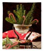 Christmas Decoration Fleece Blanket