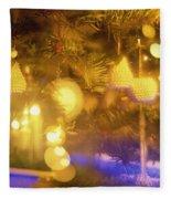 Christmas Decorations Fleece Blanket
