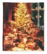 Christmas Eve Fleece Blanket