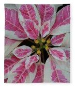 Christmas Floral Fleece Blanket