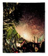 Christmas Glitter Fleece Blanket