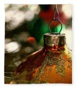 Christmas Gold Fleece Blanket