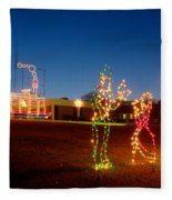 Christmas In Cayce-1 Fleece Blanket