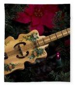 Christmas Music Fleece Blanket