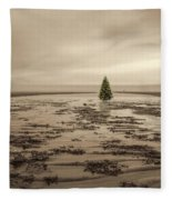 Christmas On The Bar Fleece Blanket