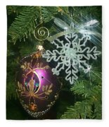 Christmas Ornaments 2 Fleece Blanket