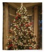 Christmas Past Fleece Blanket