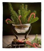 Christmas Pine Fleece Blanket