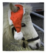 Christmas Pony Fleece Blanket