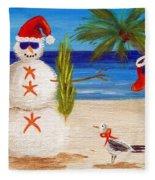 Christmas Sandman Fleece Blanket