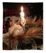 Christmas Shining Light Fleece Blanket
