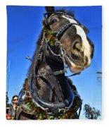 Christmas Shire 2 Fleece Blanket
