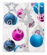 Christmas Tree Tree Fleece Blanket