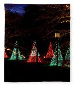 Christmas Wonderland Walk Fleece Blanket