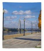 Christopher S. Bond Bridge Fleece Blanket