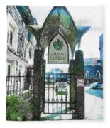 Christ's College Canterbury Fleece Blanket