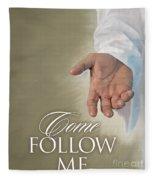 Christ's Hand Fleece Blanket