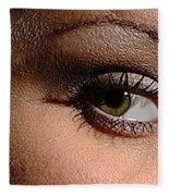 Christy Eyes 89 Fleece Blanket