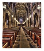 Church Aisle Fleece Blanket