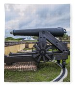 Church At Fort Moultrie Fleece Blanket