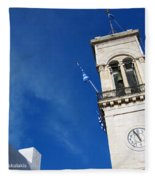 Church Belfry Fleece Blanket