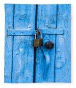 Church Door Blues Fleece Blanket