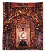 Church Icon - 84 Fleece Blanket