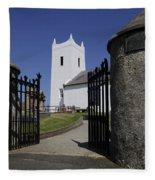 Church If Ireland Fleece Blanket